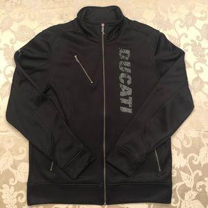 Men's Puma Ducati Black Zip Up Size L